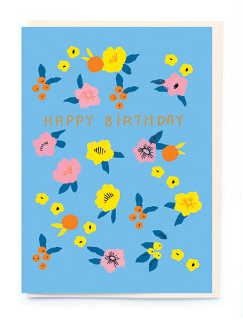 BRIGHT FLORALS (Birthday)