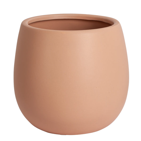 Ceramic Pot Matte Taupe