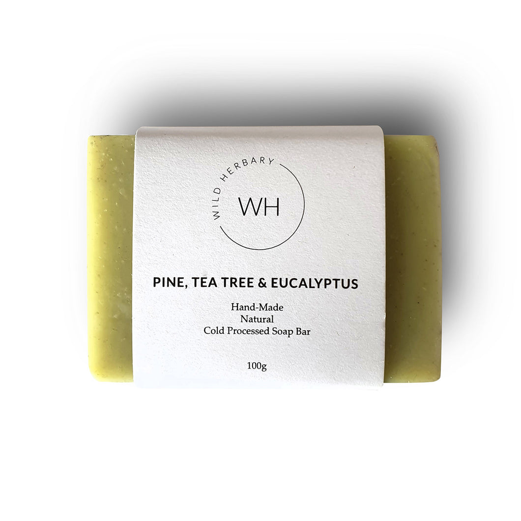 Pine, Tea tree & Eucalyptus Bar 100grm