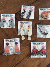 Load image into Gallery viewer, WARATAH EARRINGS - Pixie Nut & Co