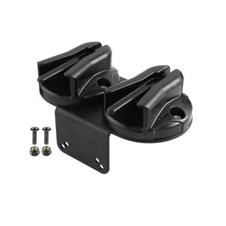 RAM Tough-Box™ Console Double Microphone Clip Base with 90 Degree Mounting Bracket (RAM-VC-MC2) - RAM Mounts - Mounts Russia