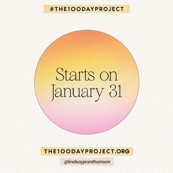 I'm participating in #The100DayProject
