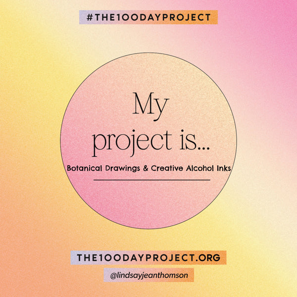 #The100DayProject Kicks off January 31st - have you decided on your project?