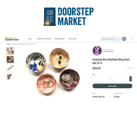 Select products are available on Doorstep Market