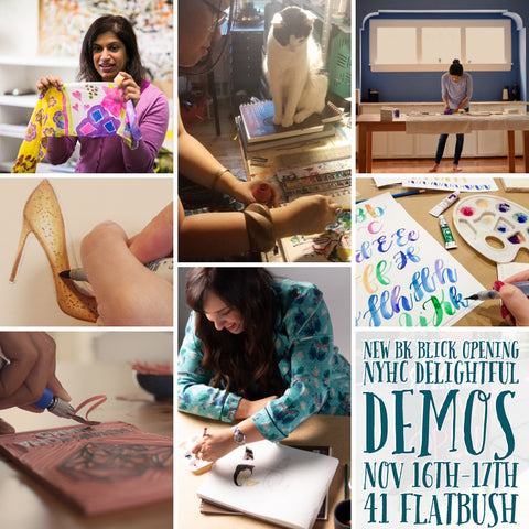 Partner with us for events and art supply product demos