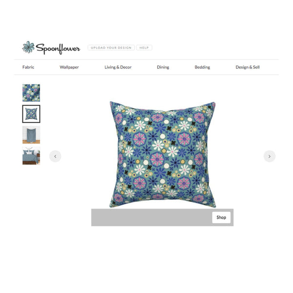 Custom fabric by DivineNY on Spoonflower