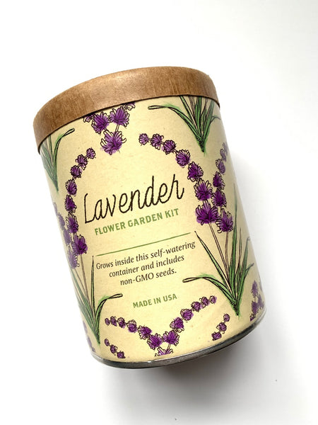 Lavender Flower Garden Kit from Crate and Barrel | DivineNY.com