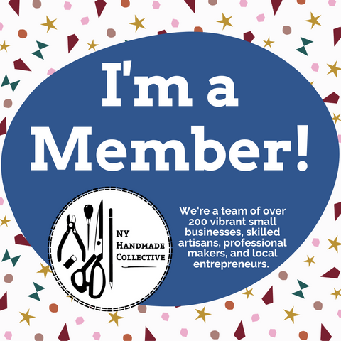 I'm a member of New York Handmade Collective