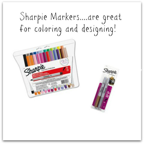 Sharpie markers are great for coloring! | DivineNY.com