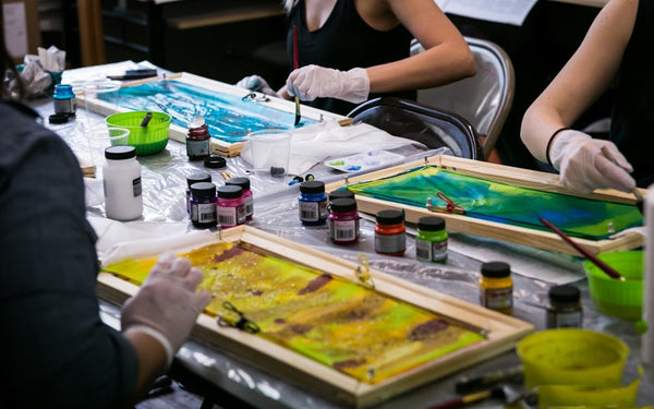 Silk Painting Workshop NYC | DivineNY.com