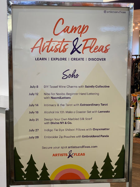 Summer Camp at Artists and Fleas | DivineNY.com