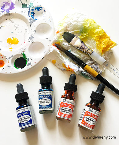Concentrated watercolor | DivineNY.com