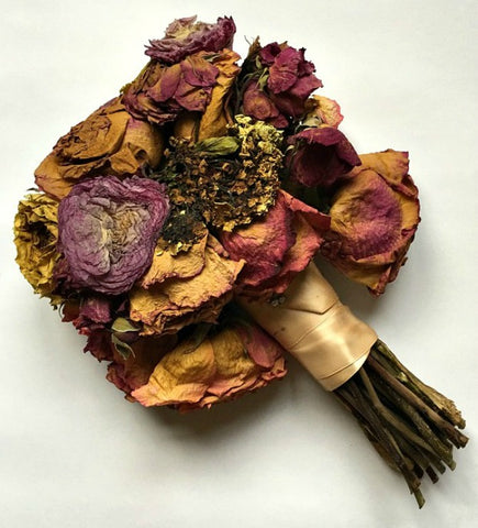 Dried wedding bouquet | DivineNY.com