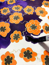 Load image into Gallery viewer, Flower Pattern Silk Painting Kit