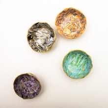 Load image into Gallery viewer, Polymer Clay Marbled Ring Dish, Set of 4, Surprise Box