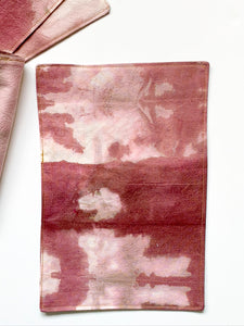 Sangria Hand Dyed Cocktail Napkins, Set of 4