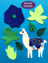 Load image into Gallery viewer, Felt Llama Craft Kit