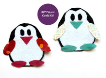Load image into Gallery viewer, Felt Penguin Craft Kit