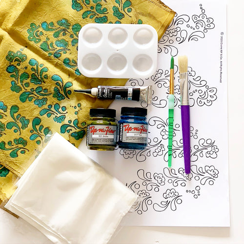 Henna Pattern Silk Painting Kit