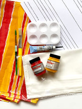 Load image into Gallery viewer, Stripe Pattern Silk Painting Kit