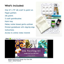 Load image into Gallery viewer, Polka Dot Pattern Silk Painting Kit