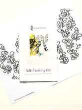 Load image into Gallery viewer, Silk Painting Kit, Henna Pattern
