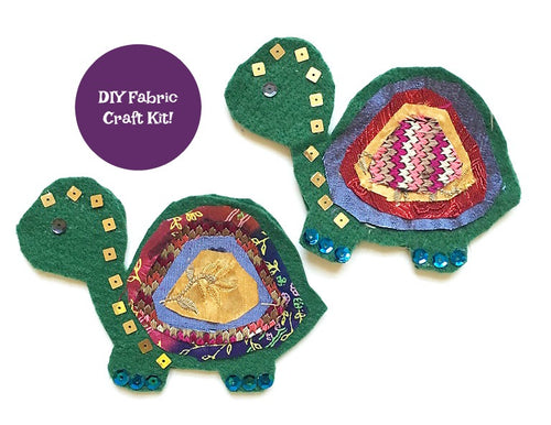 Felt Turtle Craft Kit