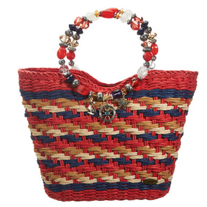 Nautical Beaded Bag