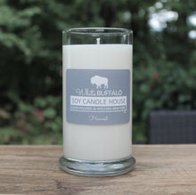 Load image into Gallery viewer, Natural soy candle, 20oz status jar, handmade by White Buffalo Soy Candle House in Buffalo NY