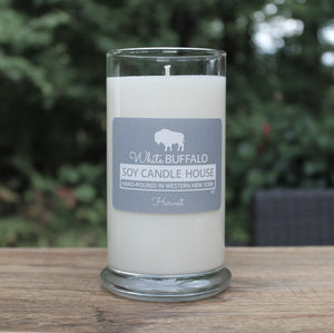 White Buffalo Soy Candle House Status Jar Soy Candles in 20oz Jar