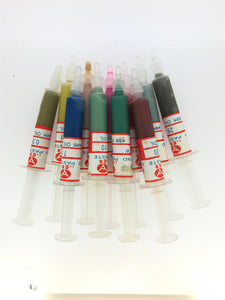 Set of 11 Oil Based Diamond pastes