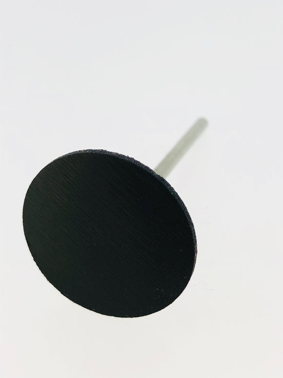 Black Mounted Rubber Abrasive