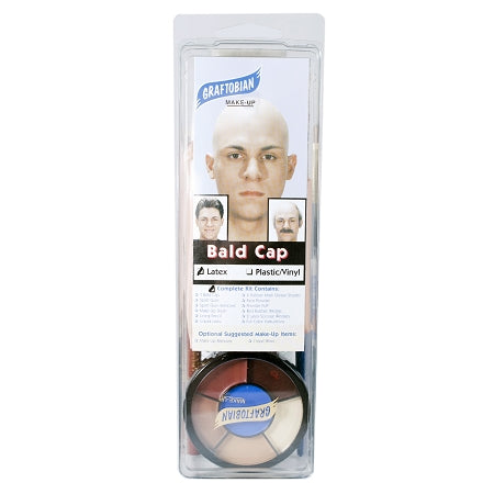 Graftobian Latex Bald Cap Kit