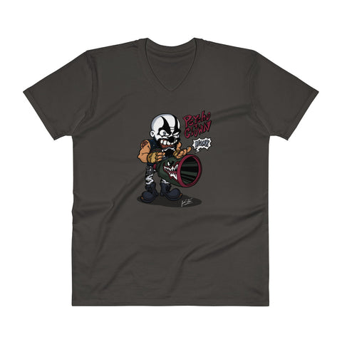 Psycho T. Clown V-Neck T-Shirt