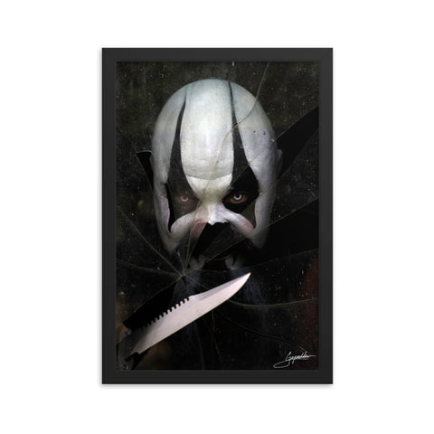Psycho T. Clown Framed poster