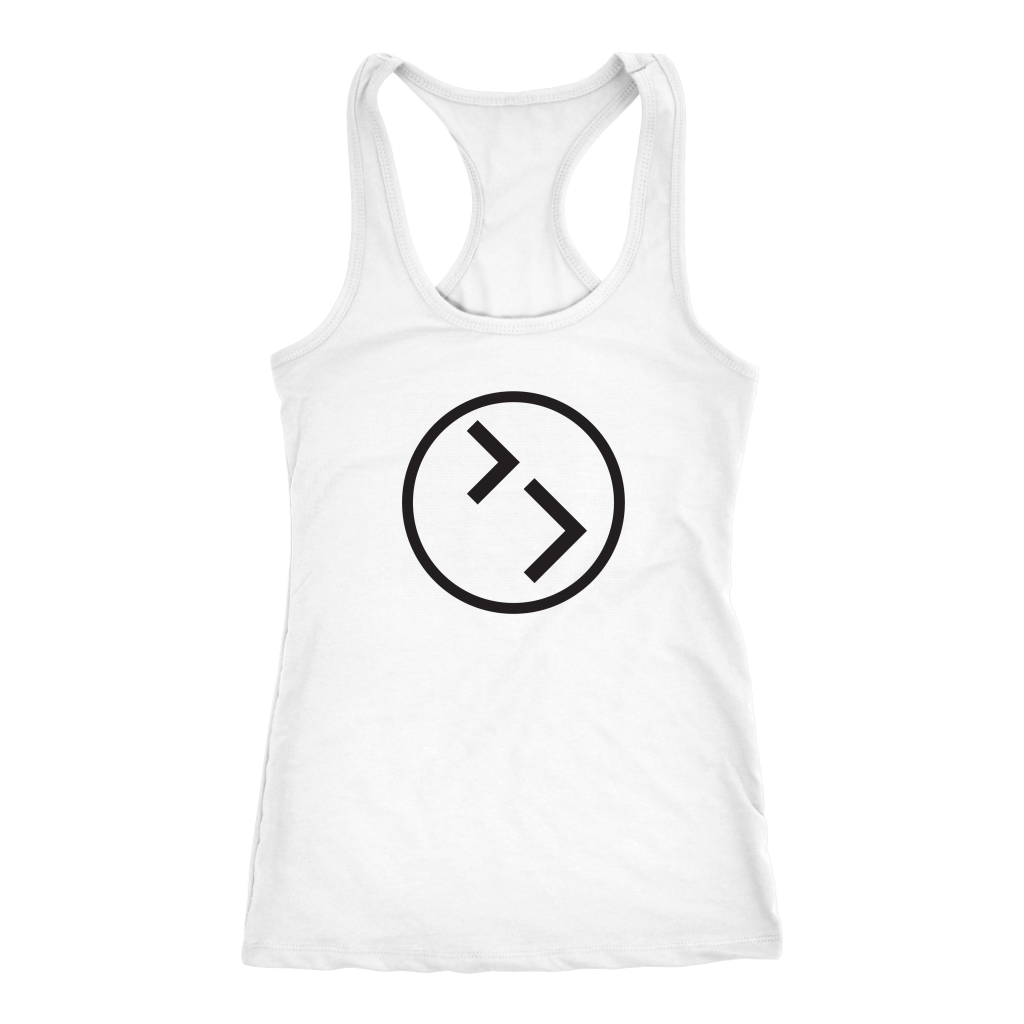 Women's Racerback- Circle Logo