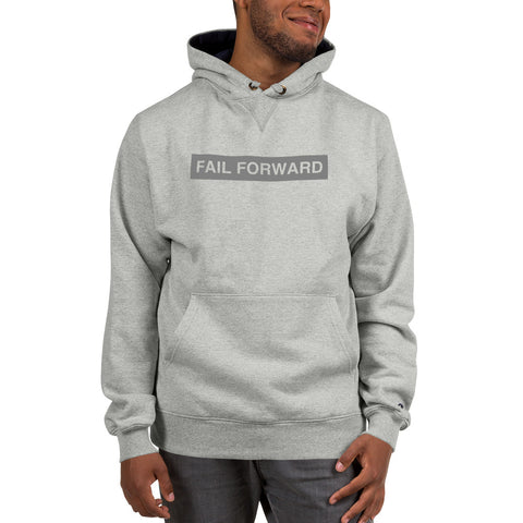 Image of Champion x Fail Forward Clear Block Hoodie