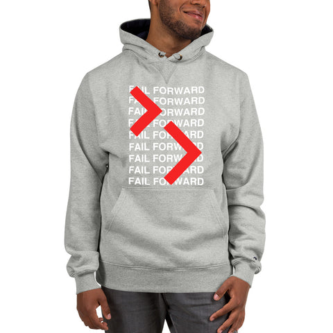 Image of Champion x Fail Forward Repeat Hoodie