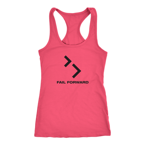 Image of Women's Racerback Tank Full Logo