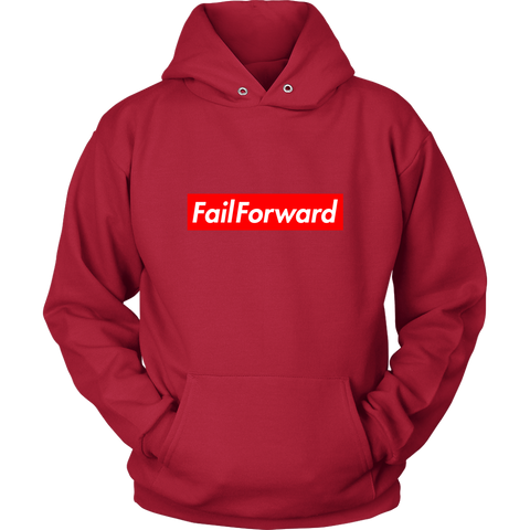 Adult Fail Forward Hoodie