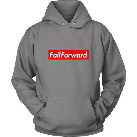 Image of Adult Fail Forward Hoodie