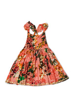 ALIA DRESS - PEACH FLORAL