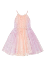 BAHAR DRESS - LILAC / PEACH