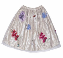 LUREX AND TULLE SKIRT - LILAC