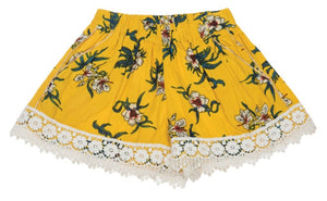 VINTAGE SHORTS-YELLOW