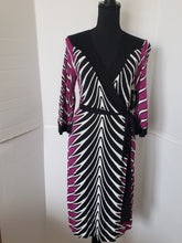 Load image into Gallery viewer, Nichole Miller Semi Wrap Dress