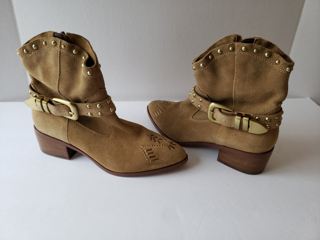 BCBG   Cowboy Style Suede Boots