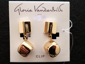 Gloria Vanderbilt Clip Earrings
