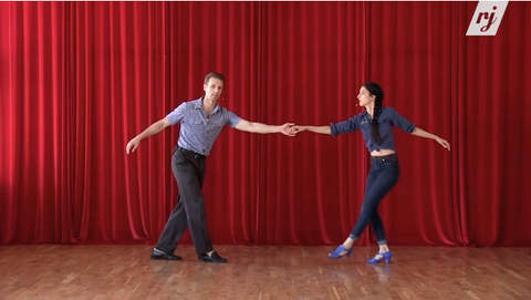 learn to swing dance online with Dax and Sarah
