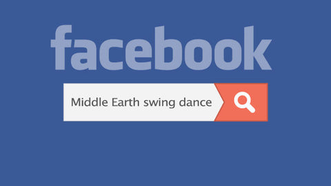 search for swing dance events, lindy hop scenes, and jazz venues on facebook search